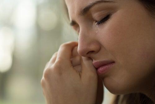 Huilen kan stress verminderen