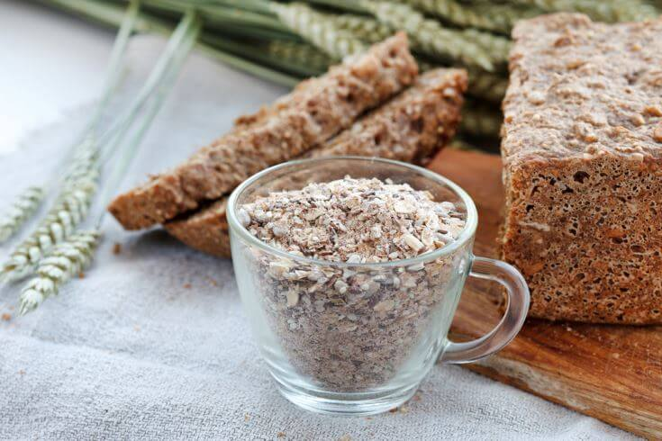 Bread made with oats is considered non-fattening bread.