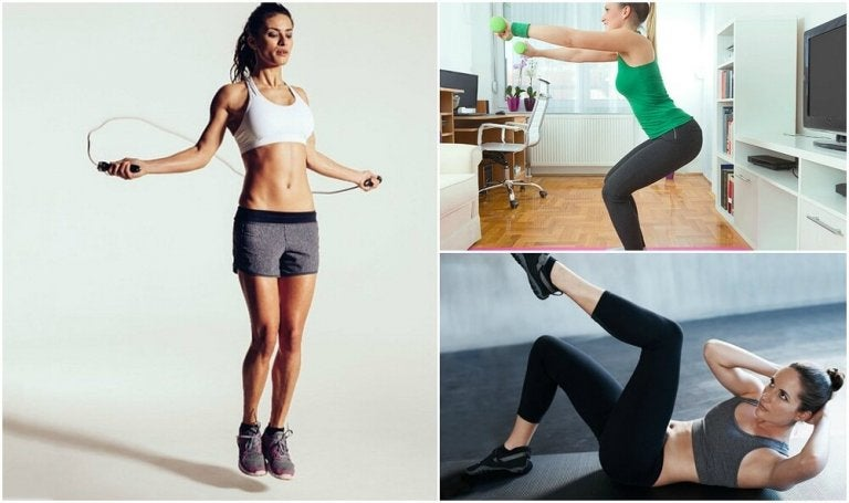Don't Have Time for the Gym? Get in Shape at Home with these Exercises