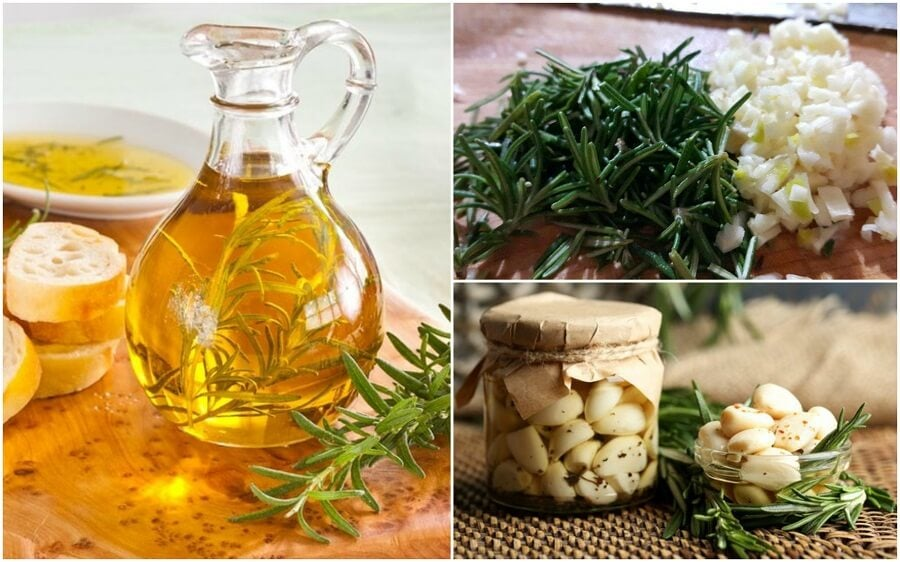 How to Make Rosemary and Garlic Infused Oil