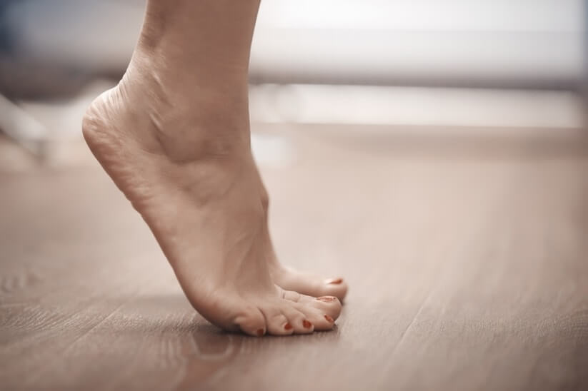 Exercises that will help you remove growths on your feet
