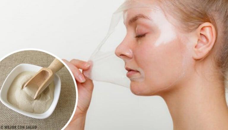gelatin face mask no milk
