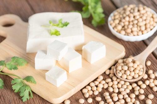 terveelliset ruoat: tofu