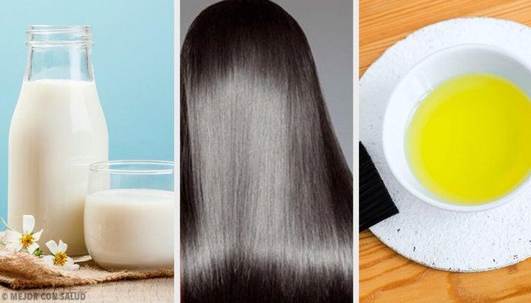 Tips and Natural Masks for Beautiful Hair