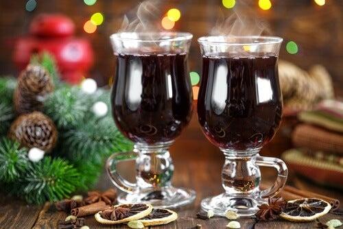 2. 시나몬 와인 칵테일