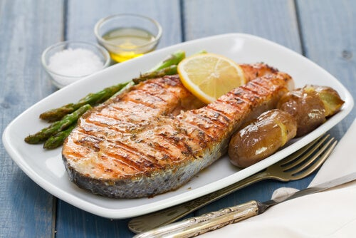 Oily fish to maintin good hemoglobin levels