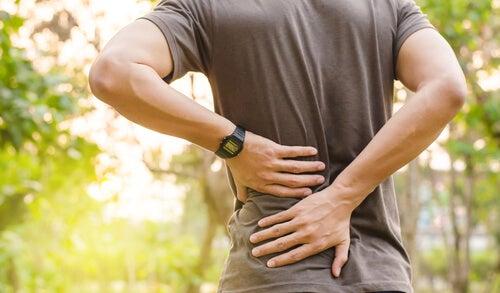 Back pain due to fibromyalgia