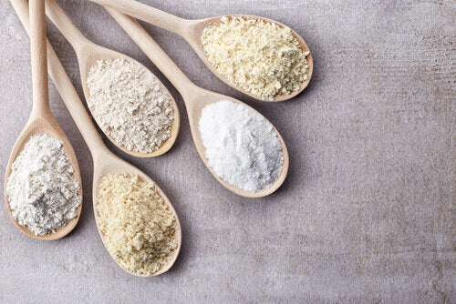 different kinds of flour