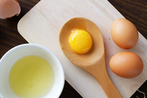 Egg as a natural hair conditioner