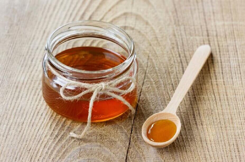 Remedy with honey for headaches