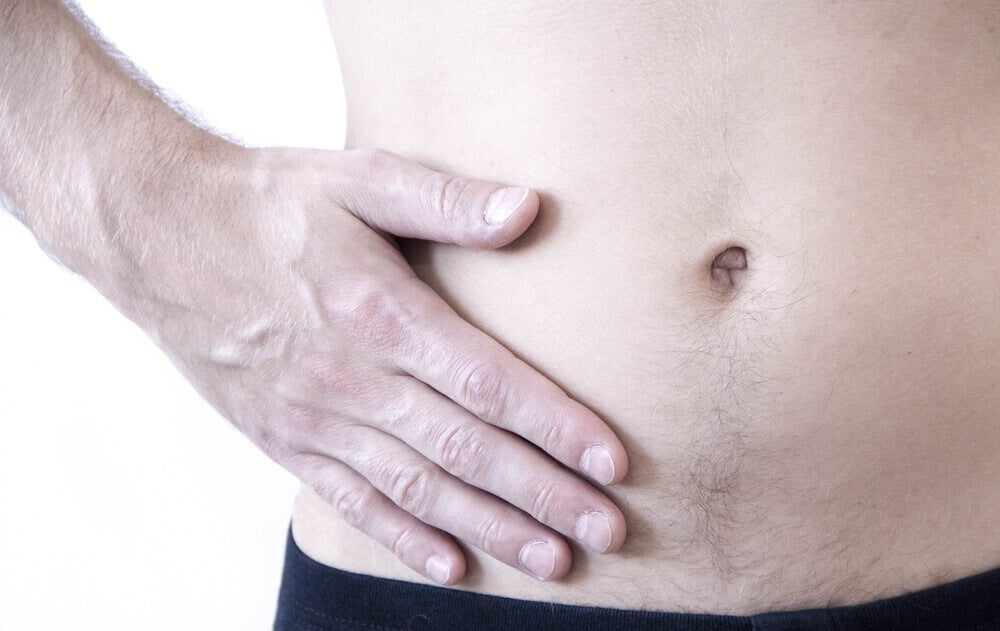 Abdominal hernia pain
