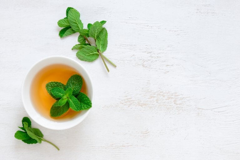 mint teas for a cough