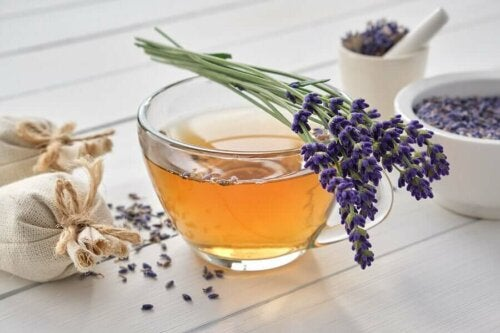 Lavender can help relax the nervous system.