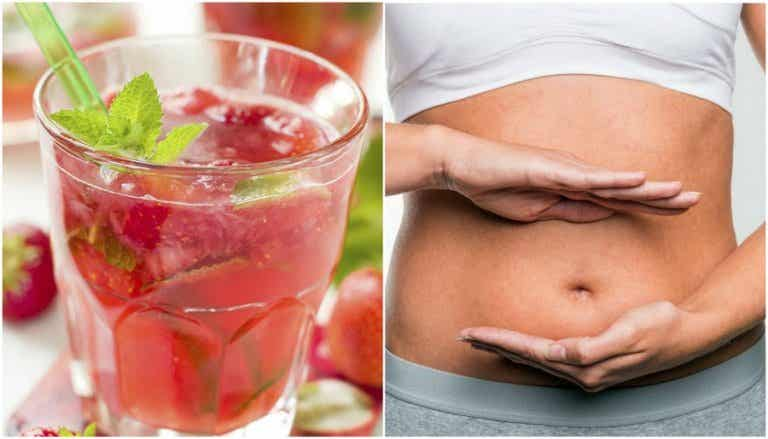 Detox Your Body with Strawberry and Lemon Water