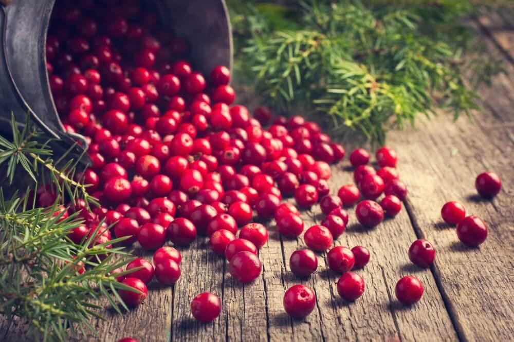 Eat cranberries every week