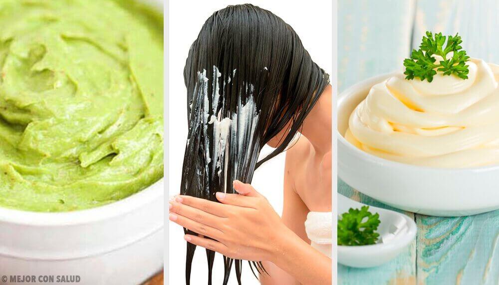 5 Masks For Shiny Silky Hair