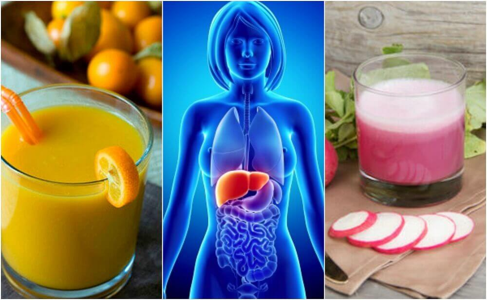 Prevent Fatty Liver with 5 Healthy Drinks