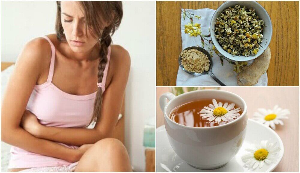 Treat Irritable Bowel Syndrome with Ginger & Chamomile Tea