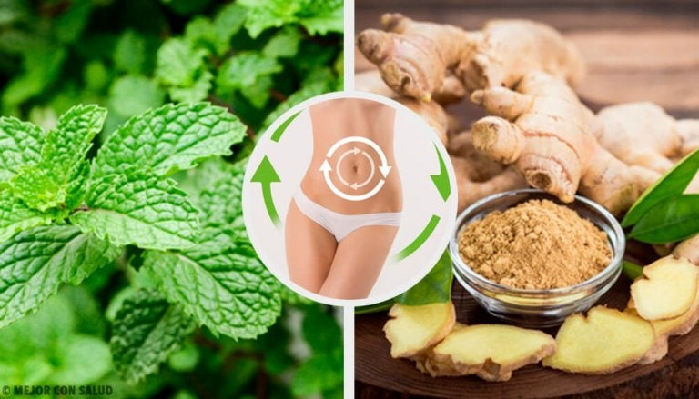 This Mint and Ginger Drink Activates Your Metabolism