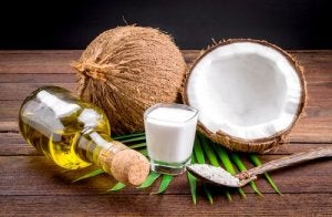 coconut milk and coconut oil