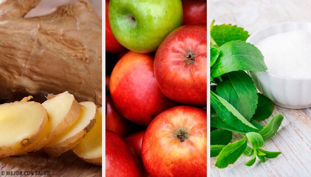 Ginger Stevia and Apple Drink Compensates for Overeating