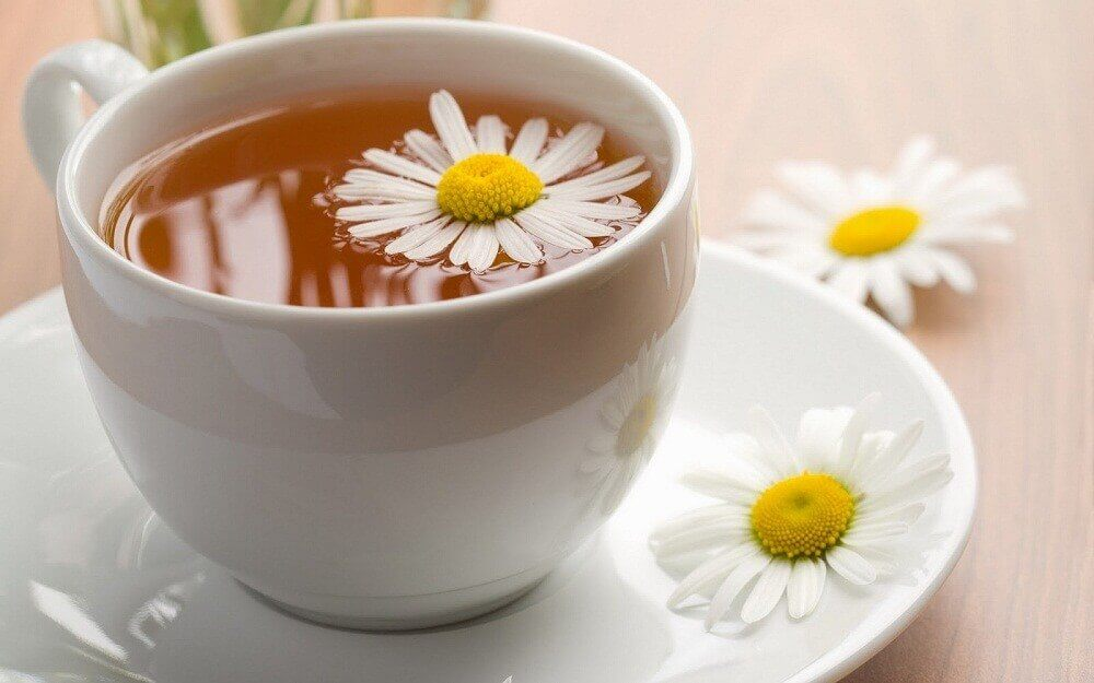 Ginger and chamomile tea for irritable bowel syndrome
