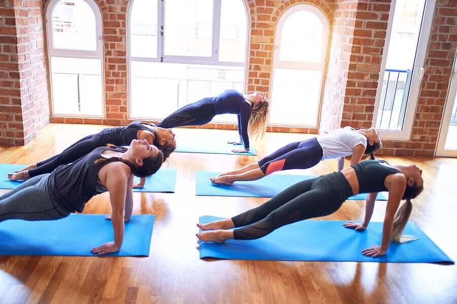 group workout tibetan exercises