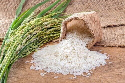 Rice, honey and organic milk