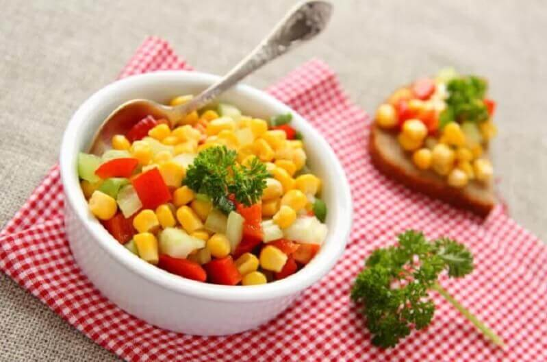 sweetcorn dishes