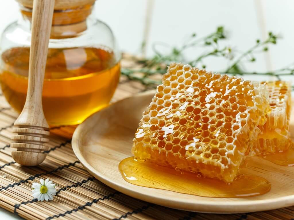 Honey is a good alternative to sugar