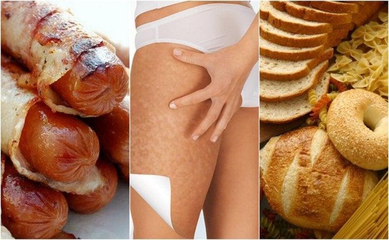 6 Foods that Worsen Cellulite