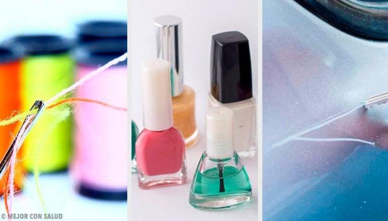 9 Alternate Ways to Use Nail Polish