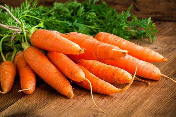 Carrots might increase leptin sensitivity.