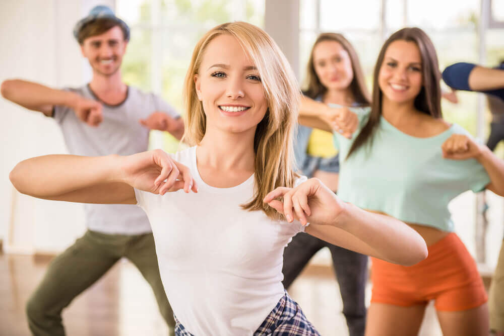 A dance class to keep one's mind fit.
