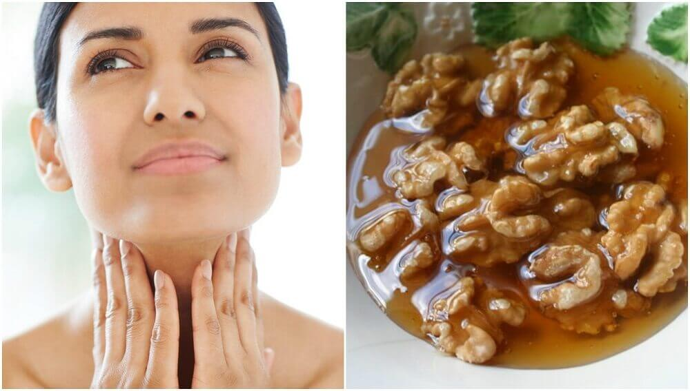 Honey and Nuts Remedy to Promote Thyroid Health