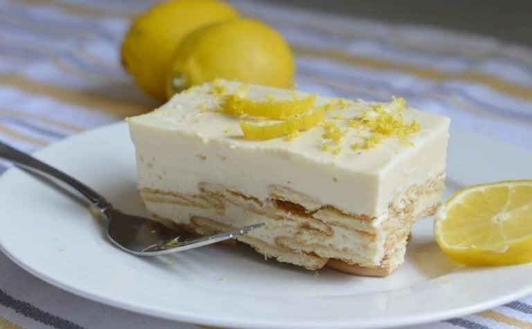 A Royal Dessert: Lemon Charlotte