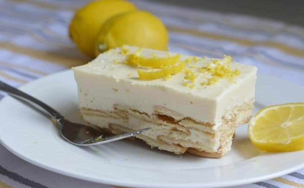 A Royal Dessert: Lemon Charlotte