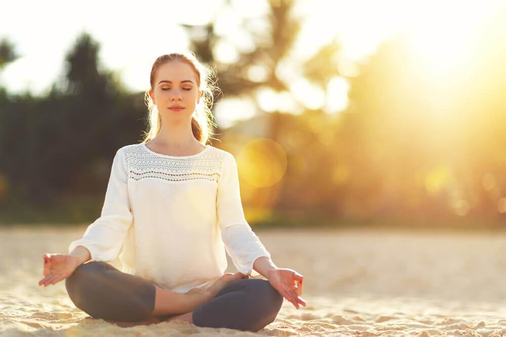 Mediteer en zoek rust