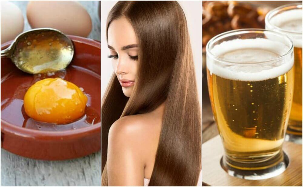 Egg and Beer Treatment for Silky and Healthy Hair