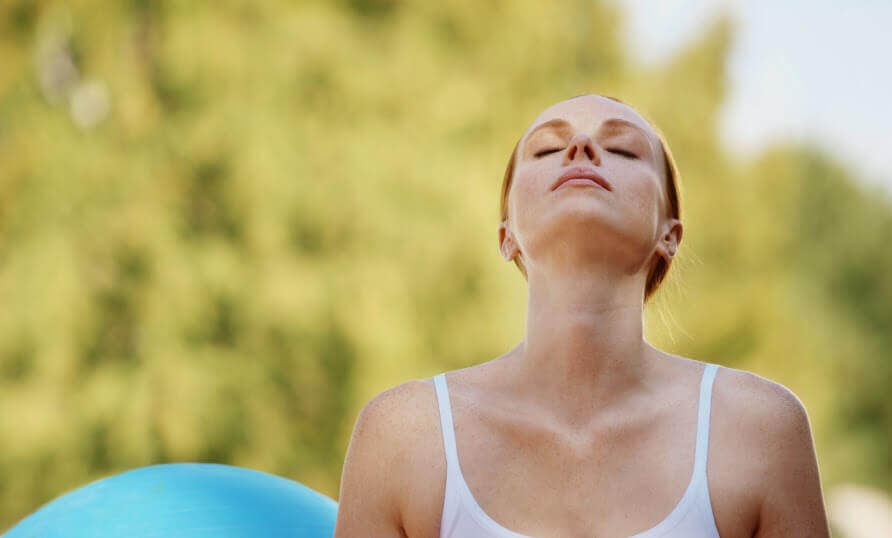 Breathing is important for controlling anxiety.