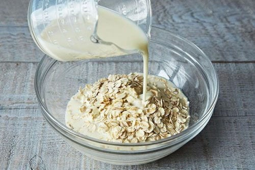 Rice and oats exfoliant