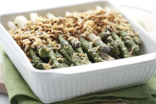 asparagus cooked in the oven
