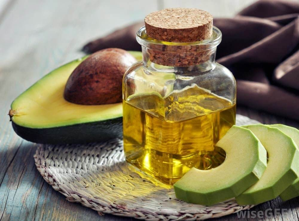 avocado and argan oil