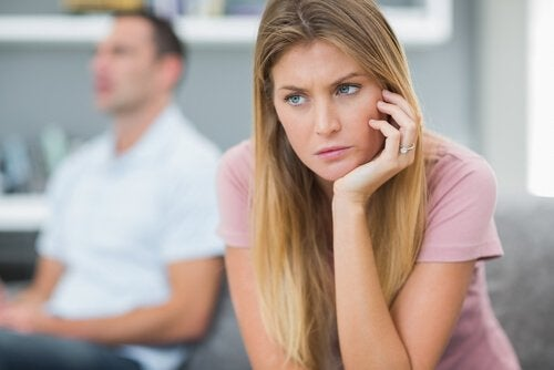 Emotionally immature woman unable to communicate