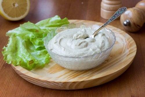 Watercress mayonnaise
