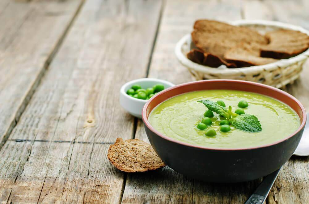 oat and pea soup