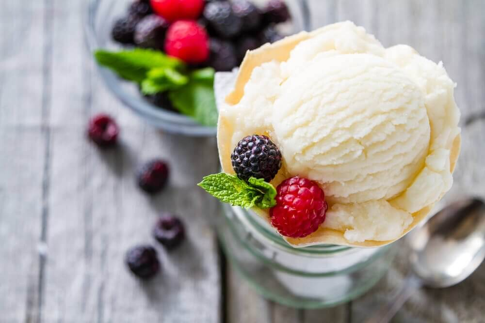 Low Calorie Vanilla Ice Cream