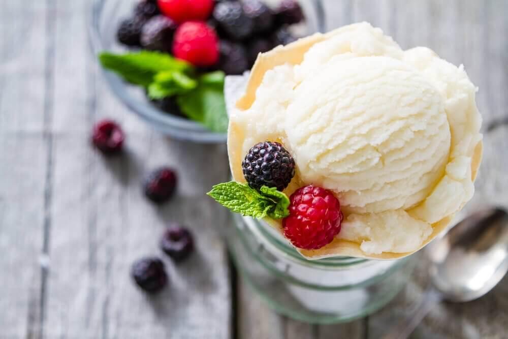 Low Calorie Vanilla Ice Cream