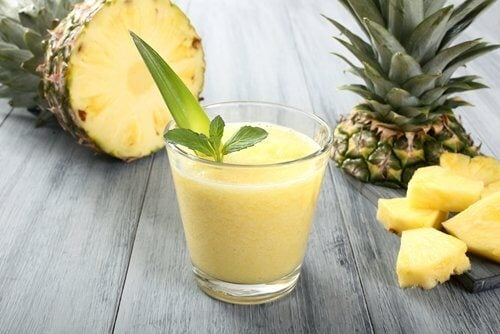 The benefits of pineapple.