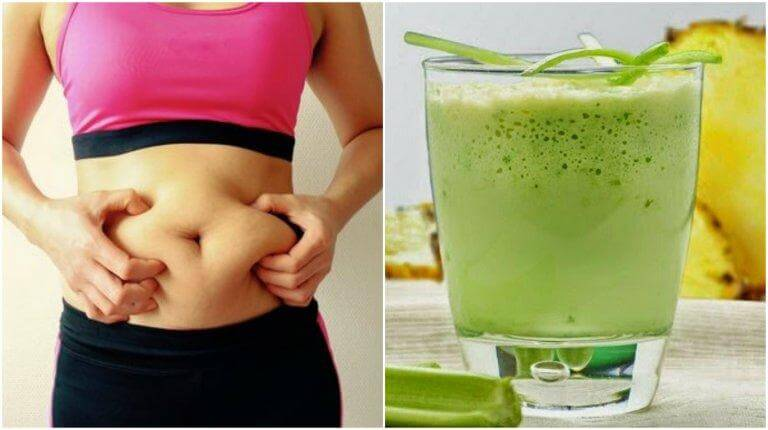 How to Prepare a Pineapple and Celery Smoothie to Lose Weight